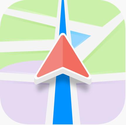 Karta GPS - Sat Nav Maps - Logo de l'appli