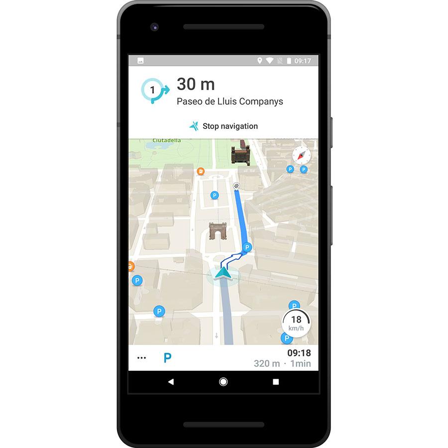 Meo Drive - Exemple de navigation