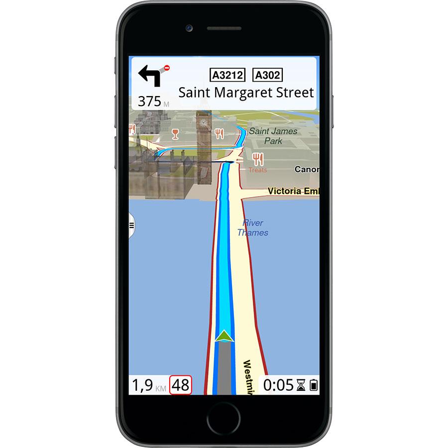 Route 66 Navigate - Exemple de navigation