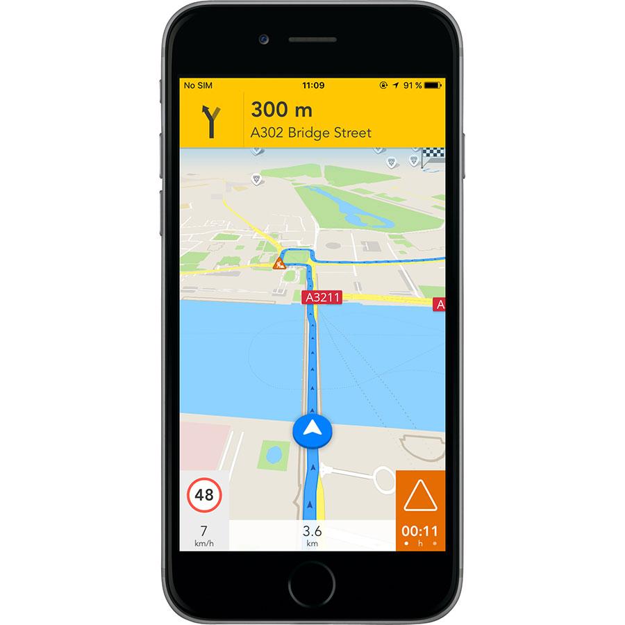 Telenav GPS Navigation by Scout - Exemple de navigation