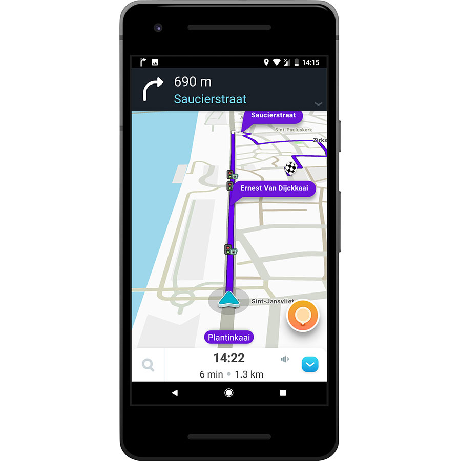 Waze Carte Temps Réel | Carte De Paris