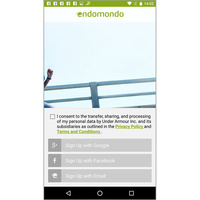 Endomondo Running & Walking (Android) -
