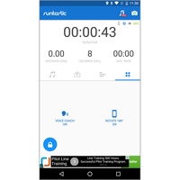 Runtastic Running & Fitness (Android) -