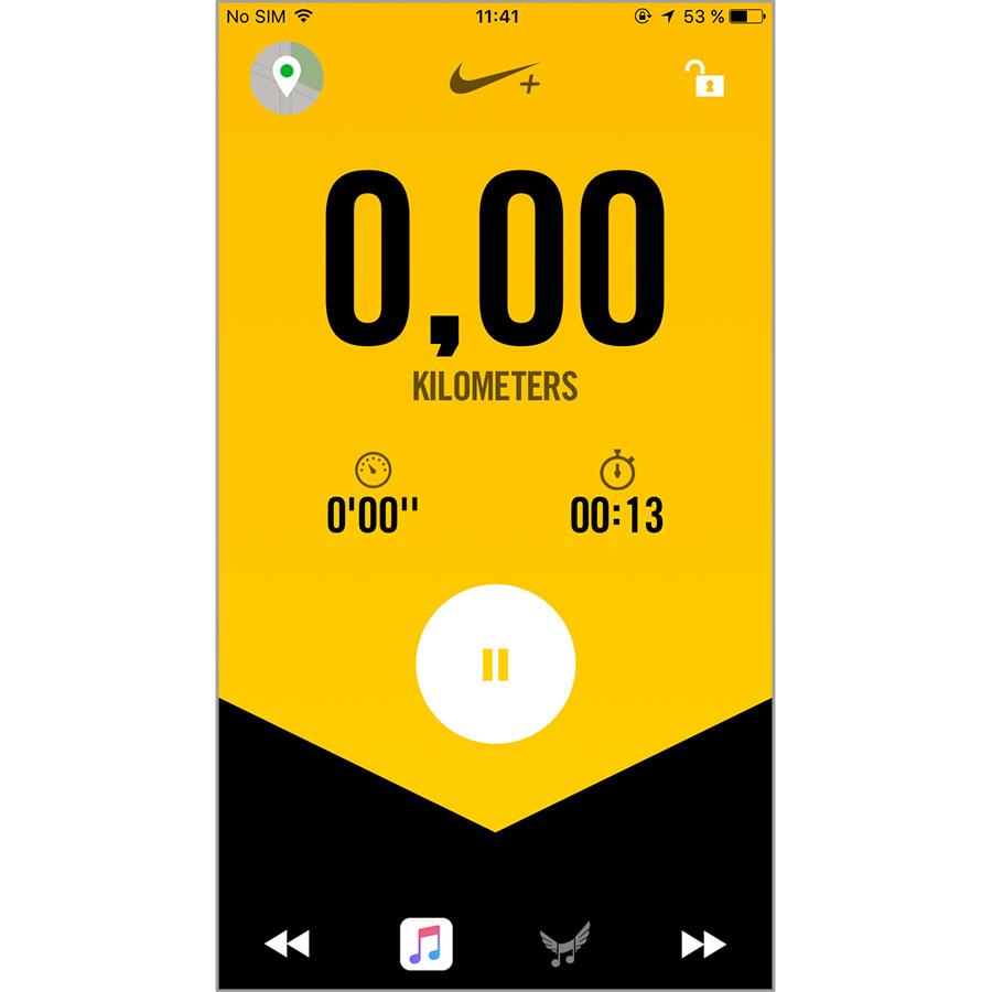 Nike Nike+ Running (iOS) -