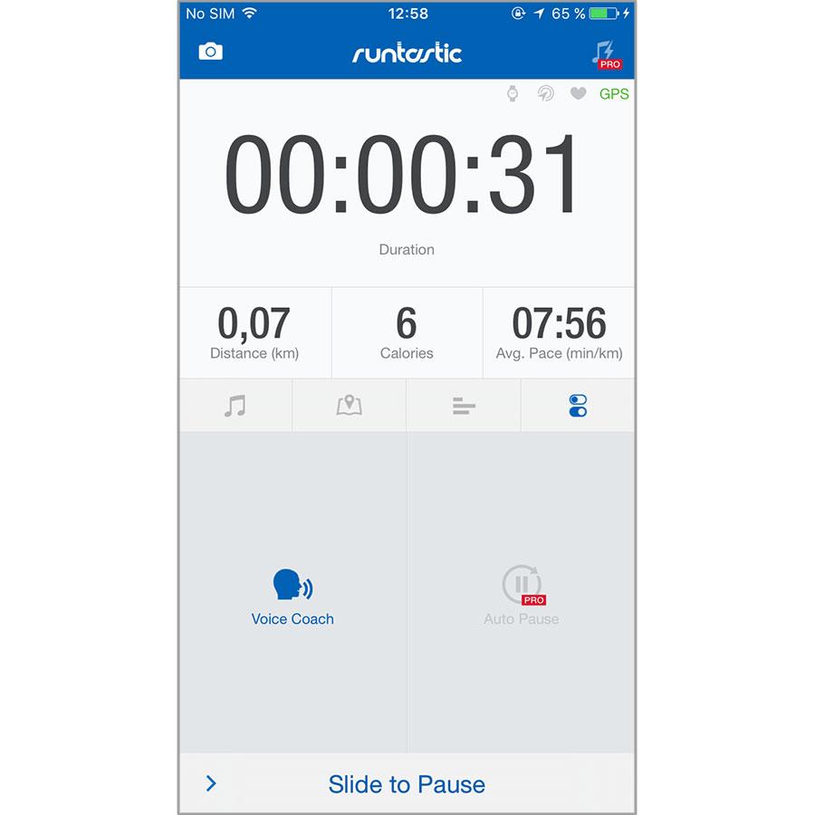 Runtastic GPS Running, Walking, Jogging, Fitness Distance Tracker and Marathon Training (iOS) -