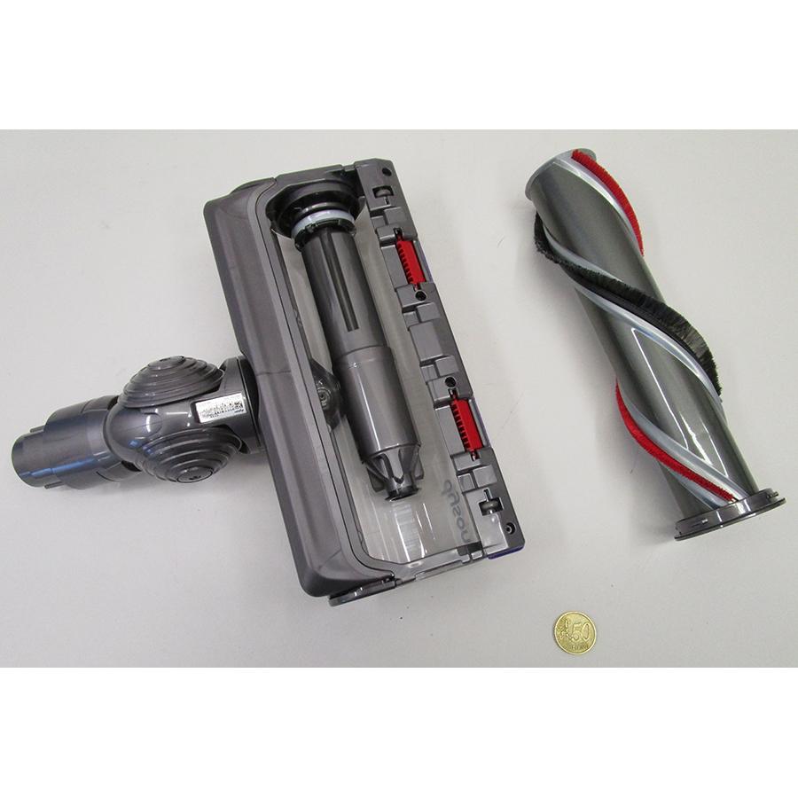 Dyson V11 Absolute Extra Pro - Axe rotatif de la brosse démontable