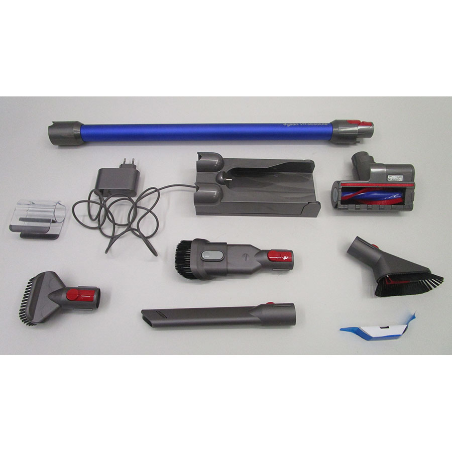 Dyson V11 Absolute - Accessoires fournis