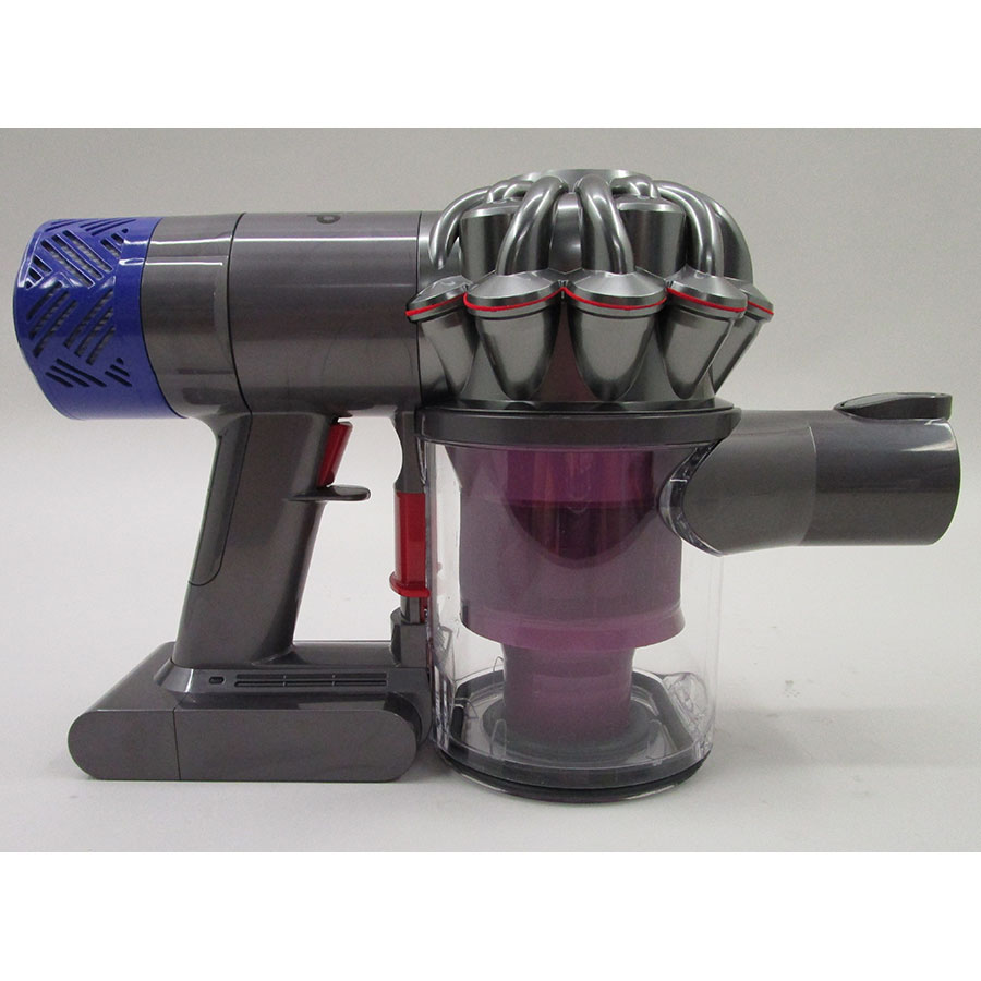 Test dyson v6 motorhead aspirateurs balais ufc que choisir for Aspirateur independant