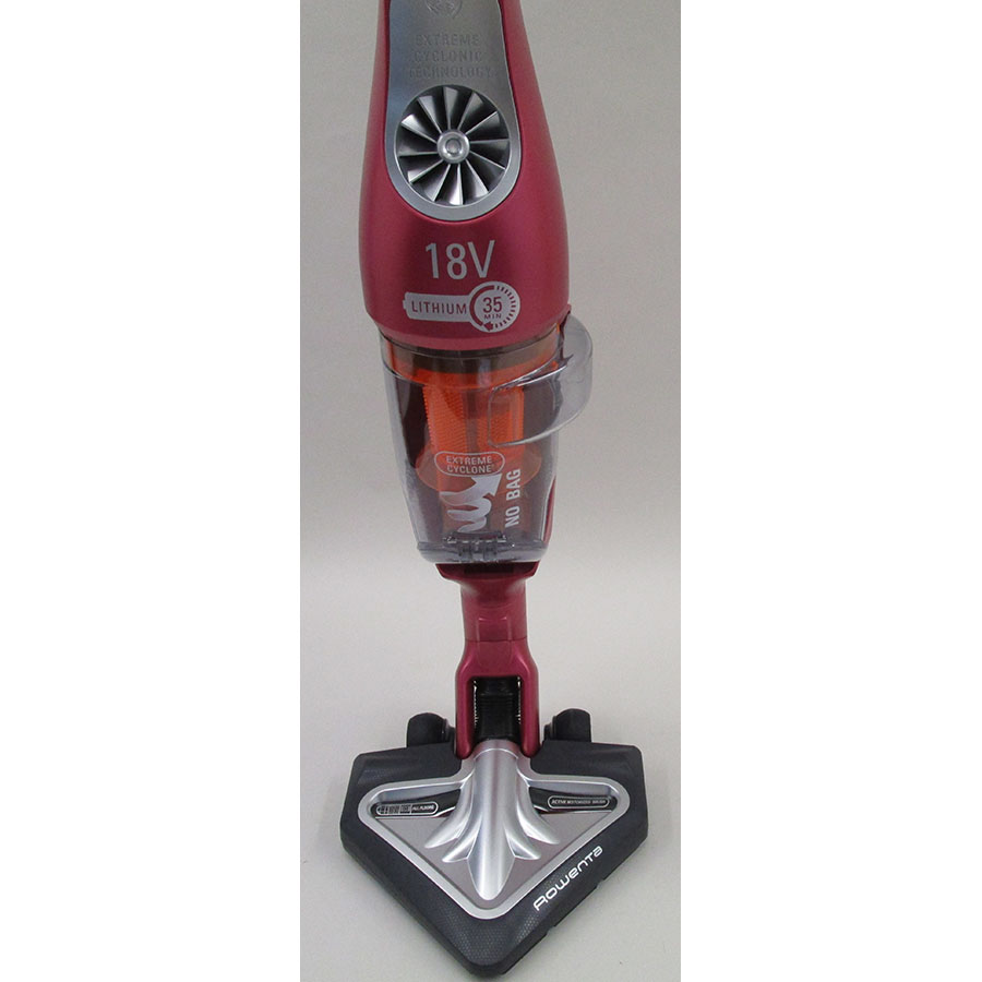 Rowenta RH8819WH Air Force Extreme Lithium - Brosse triangulaire