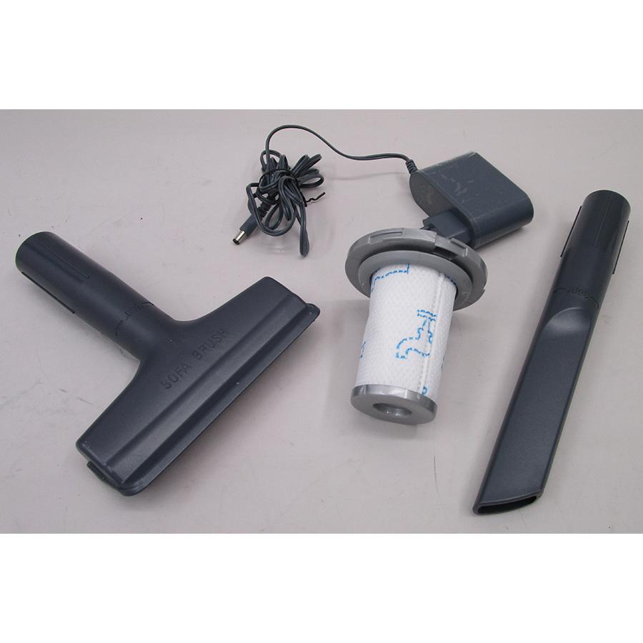 Rowenta RH9639WO X-Force Flex 8.60 Allergie - Accessoires fournis