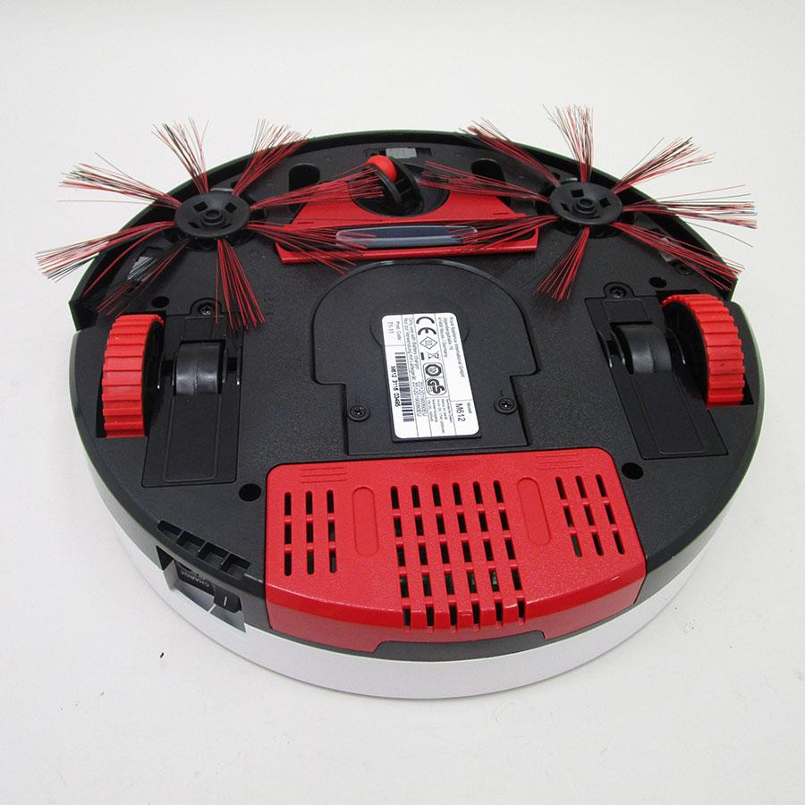 Dirt Devil M612 Spider 2.0 Aspirateur Robot NoirRouge