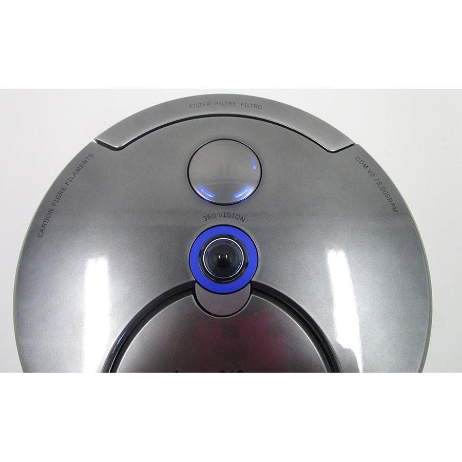 Dyson 360 Eye - Bandeau de commandes