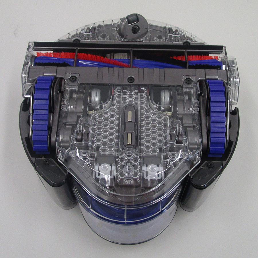 Dyson 360 Eye - Vue de dessous