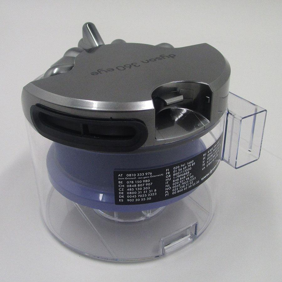 Dyson 360 Eye - Réservoir à poussière