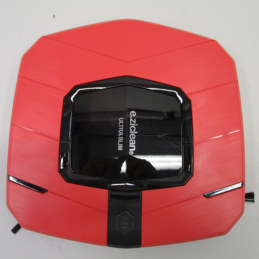 E.Ziclean Ultra Slim Red V2 - Vue de dessus