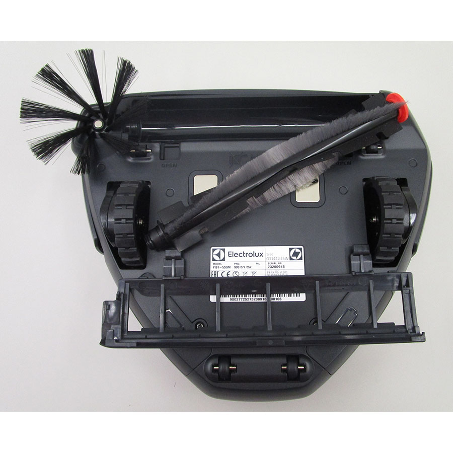 Electrolux Pure i9 PI91-5SGM - Brosse principale retirée
