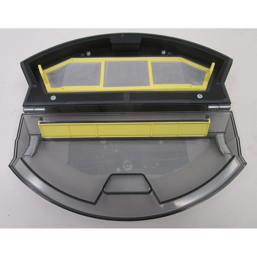 Hoover HGO320H - Bac à poussière et son filtre