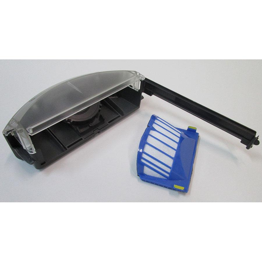 iRobot Roomba 606  - Filtre à poussière retiré