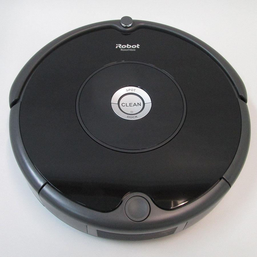 iRobot Roomba 606  - Vue de dessus