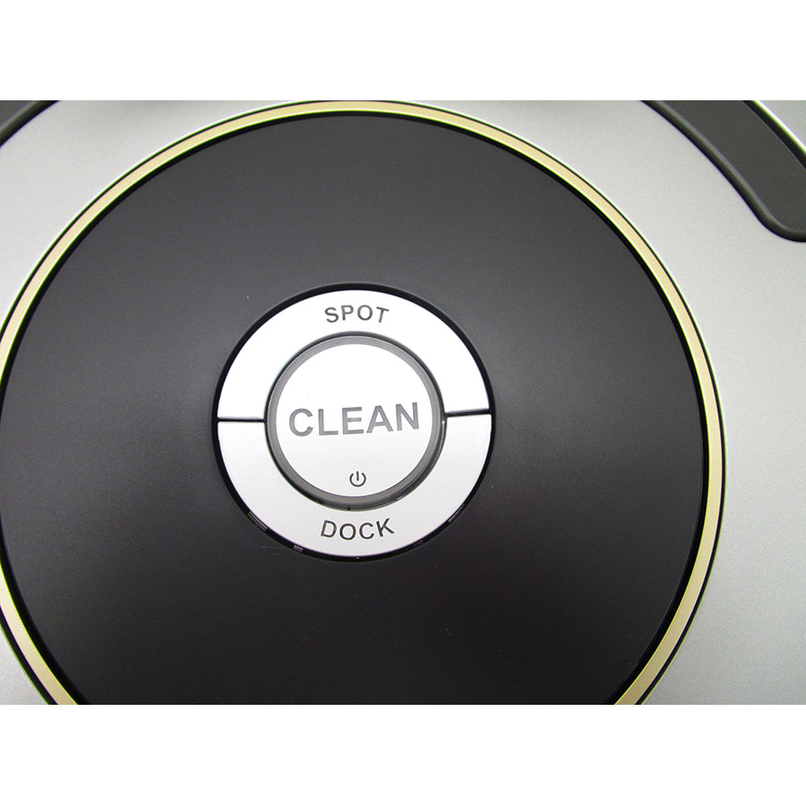 iRobot Roomba 616 - Bandeau de commandes