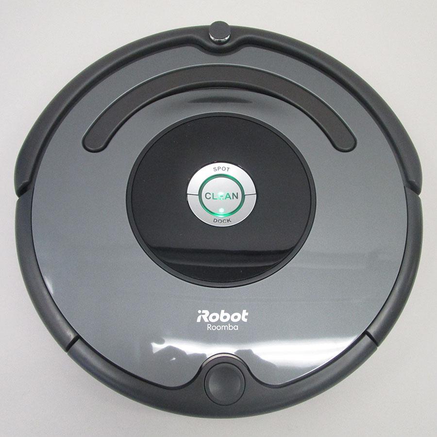 iRobot Roomba 676 - Vue de dessus