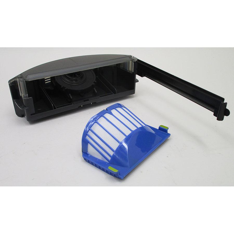 iRobot Roomba 681 - Bac à poussière et son filtre