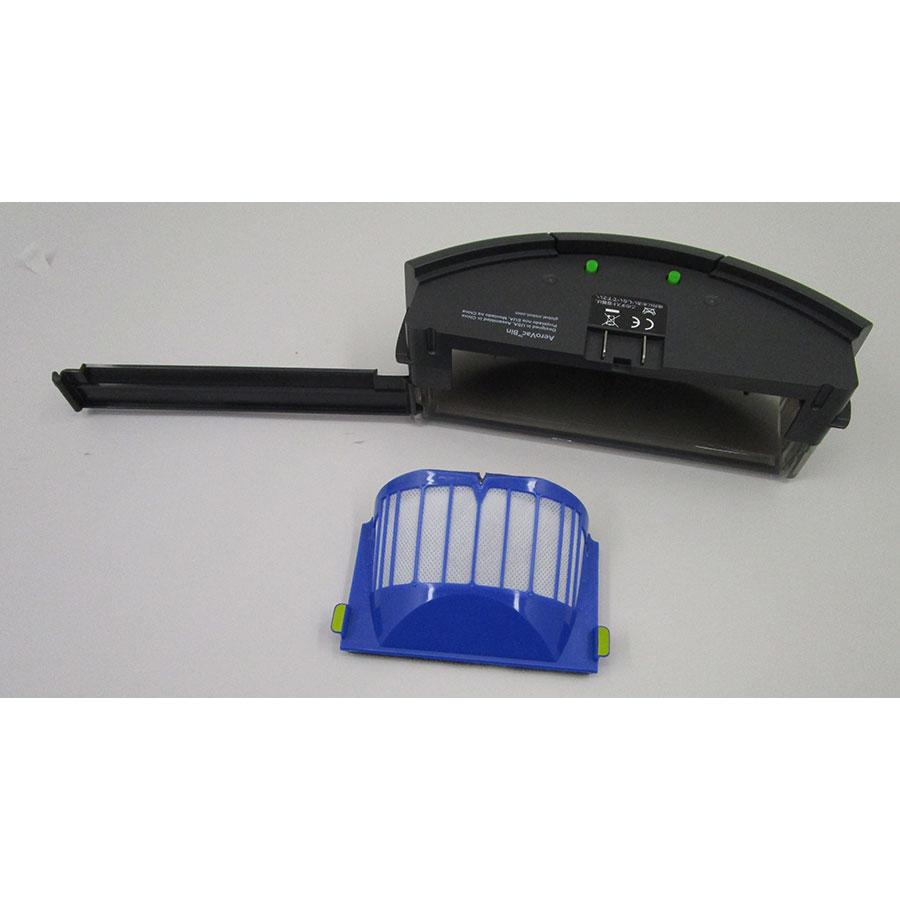 iRobot Roomba 696 - Bac à poussière et son filtre