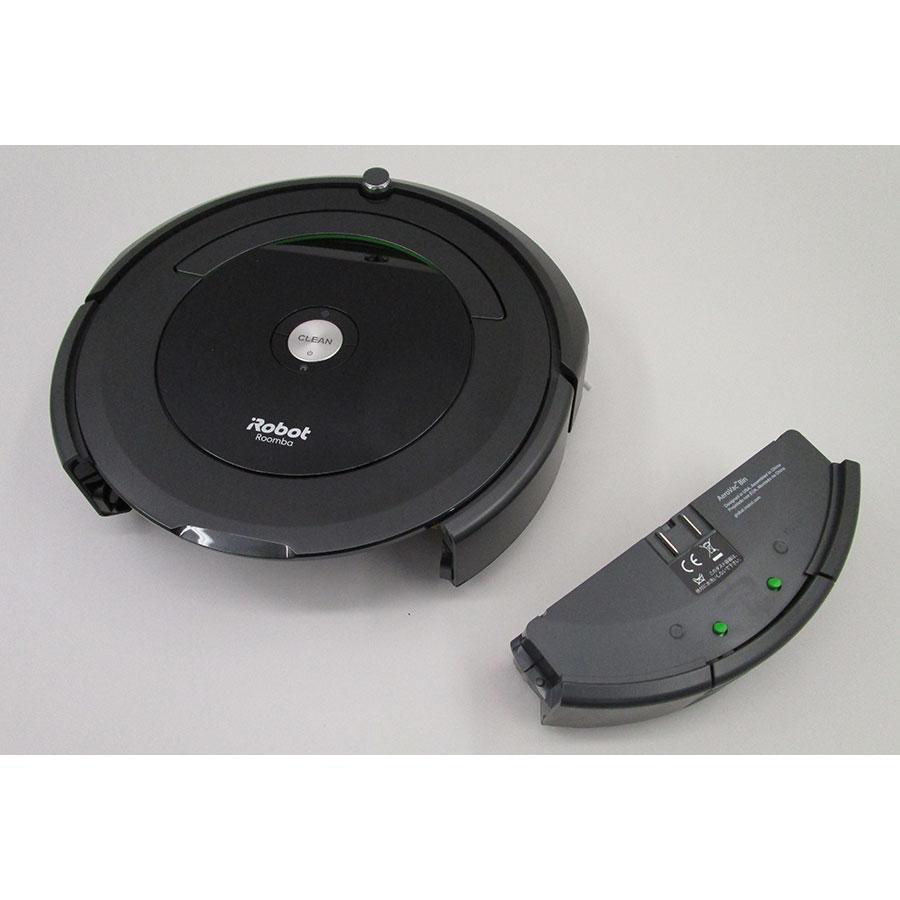 Test iRobot Roomba 696 Aspirateur robot UFC Que Choisir