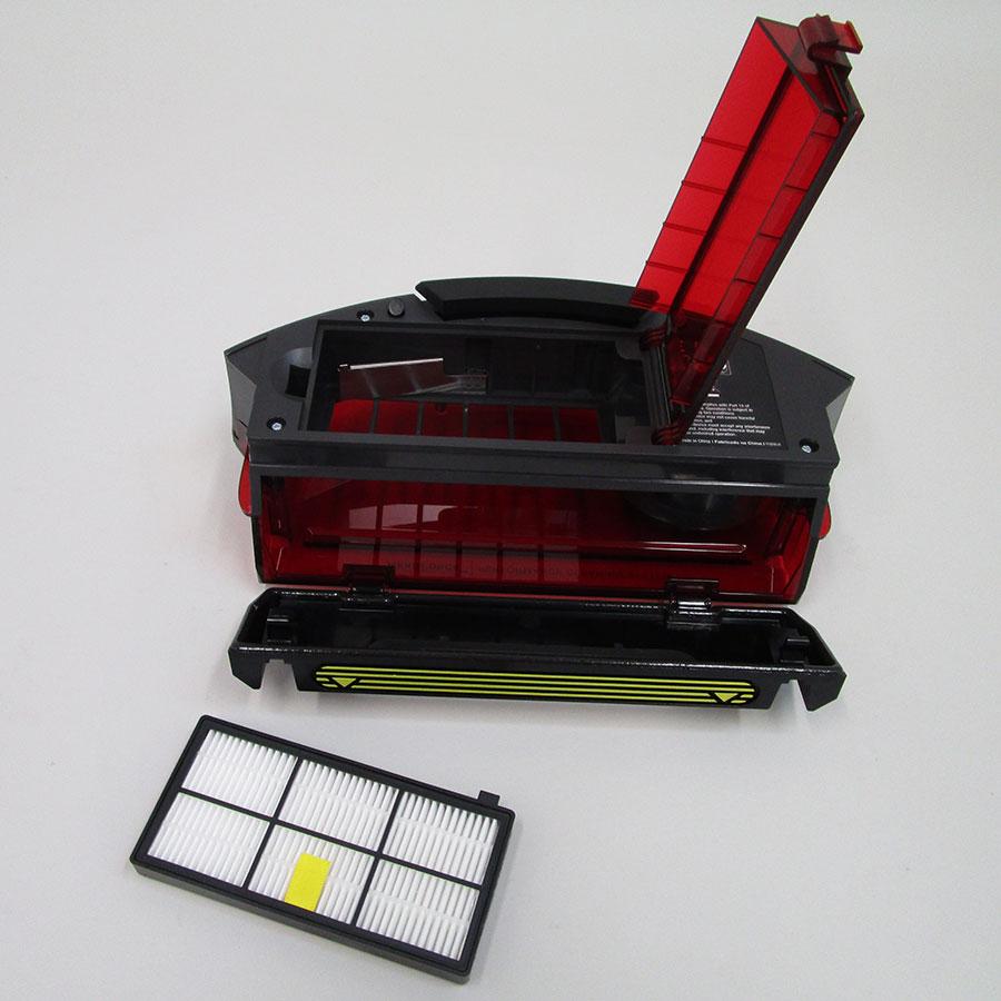 iRobot Roomba 866 - Bac à poussière et son filtre