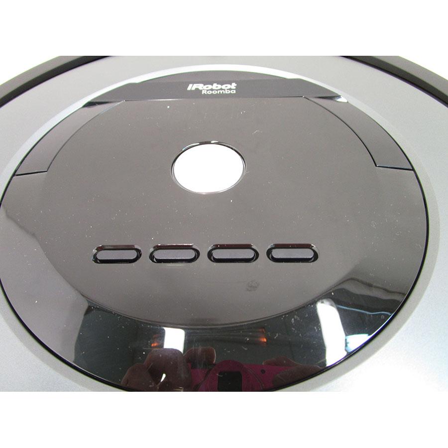 iRobot Roomba 866 - Bandeau de commandes