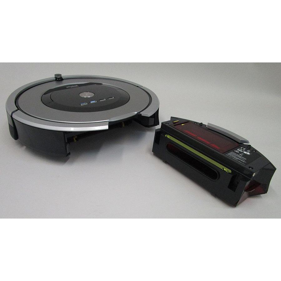iRobot Roomba 886 - Réservoir à poussière accessible par l'arrière