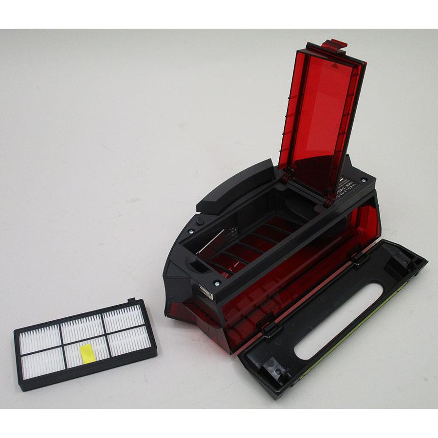 iRobot Roomba 966  - Bac à poussière et son filtre