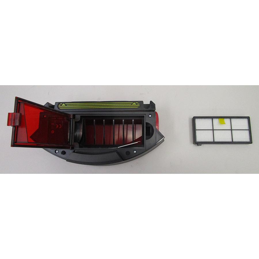 iRobot Roomba 976 - Filtre à poussière retiré