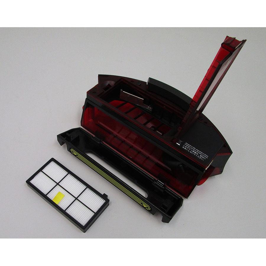 iRobot Roomba 980 - Bac à poussière et son filtre