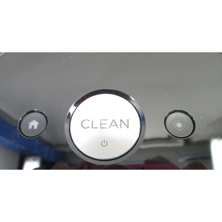 iRobot Roomba e5158 - Bandeau de commandes