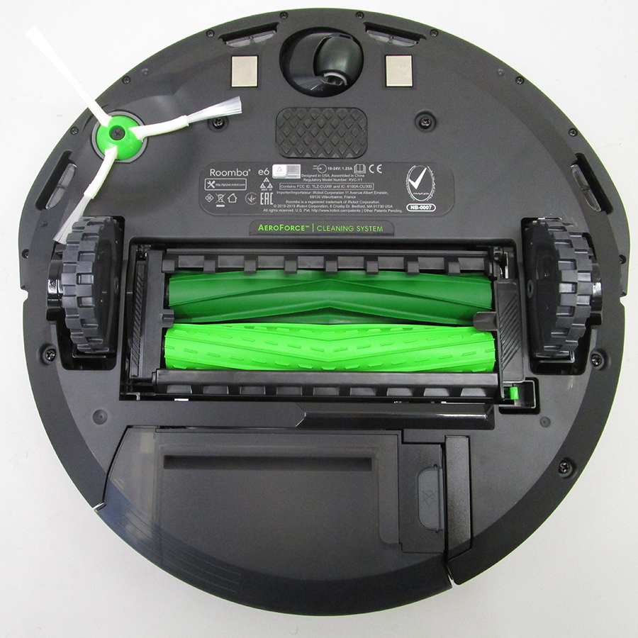 iRobot Roomba e6198 - Vue de dessous