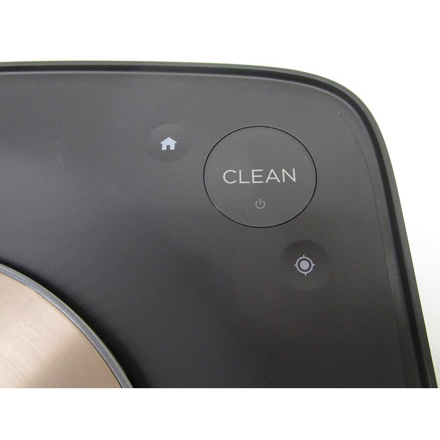 iRobot Roomba s9+ - Bandeau de commandes