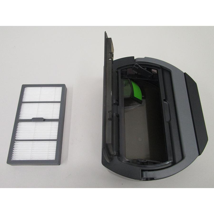 iRobot Roomba s9+ - Filtre à poussière retiré