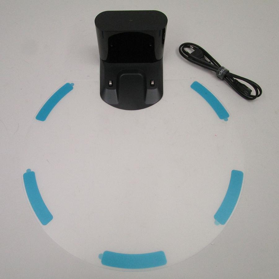 Roborock S6 MaxV - Station de charge et accessoires fournis