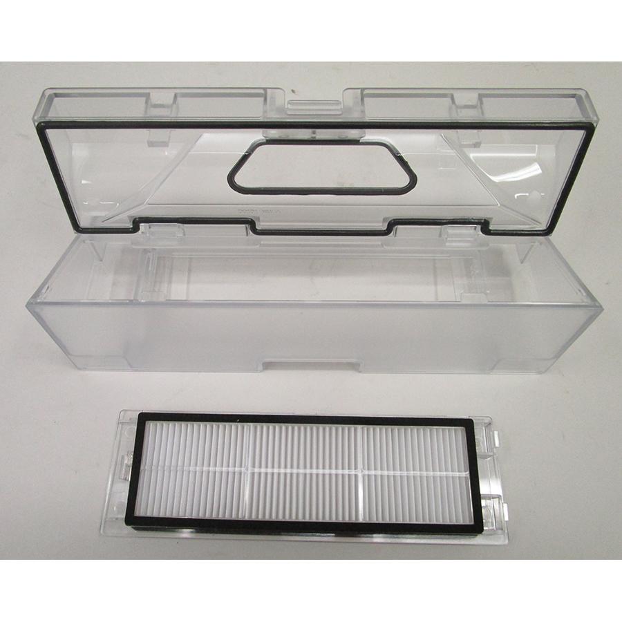 Roborock S6 MaxV - Bac à poussière et son filtre