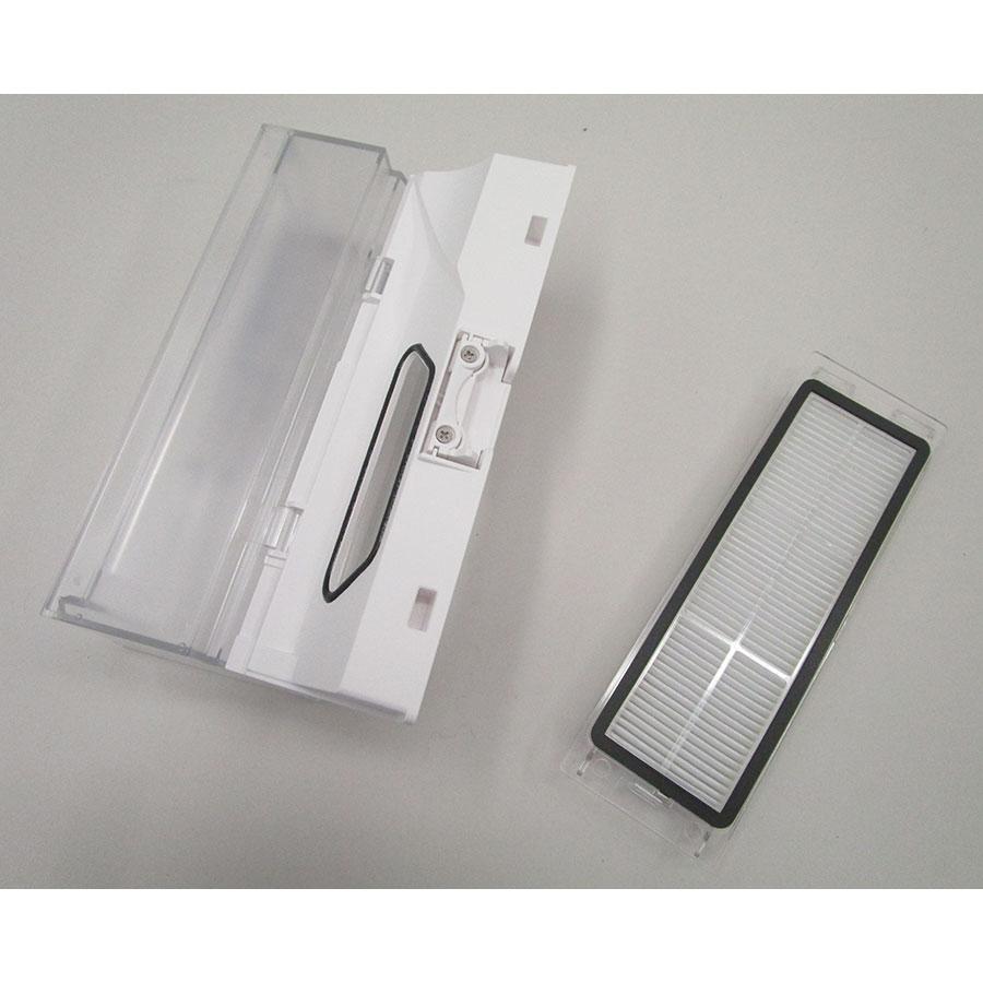 Roborock S6 - Bac à poussière et son filtre