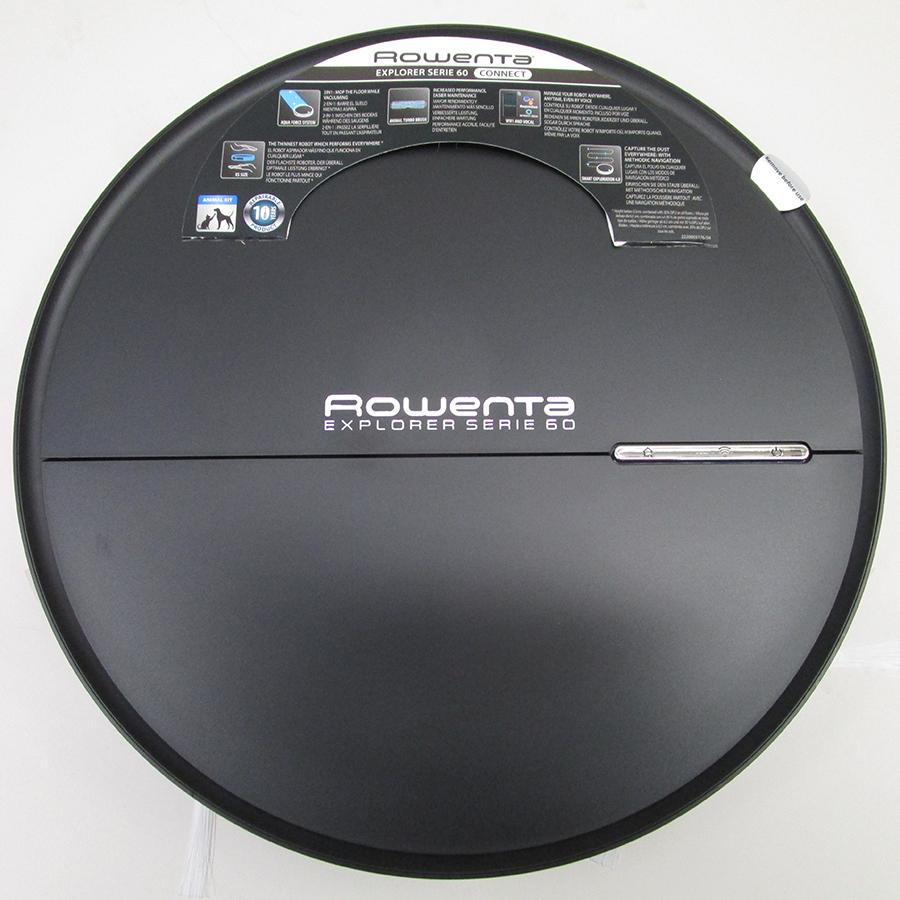 Rowenta RR7455WH Explorer Serie 60 - Vue de dessus