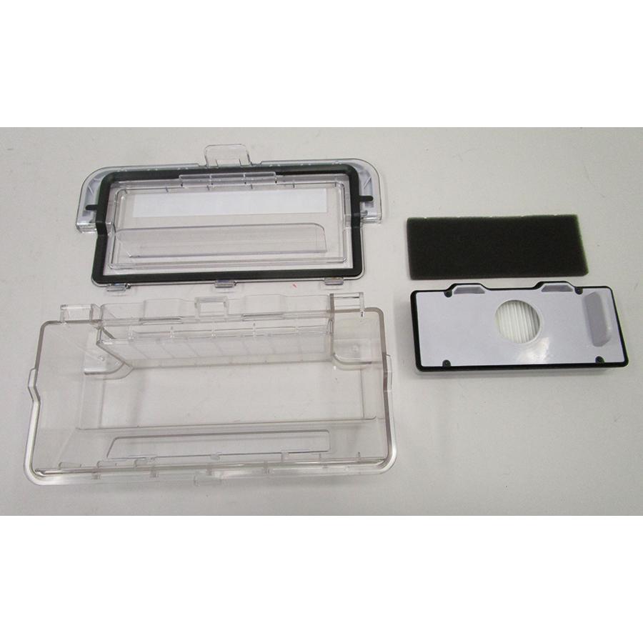 Rowenta RR7755WH Explorer Serie 80 animal kit - Bac à poussière et son filtre
