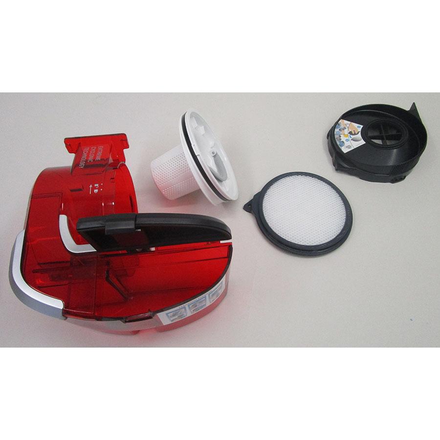 Rowenta Smart Force Cyclonic RR8043WH  - Bac à poussière et son filtre