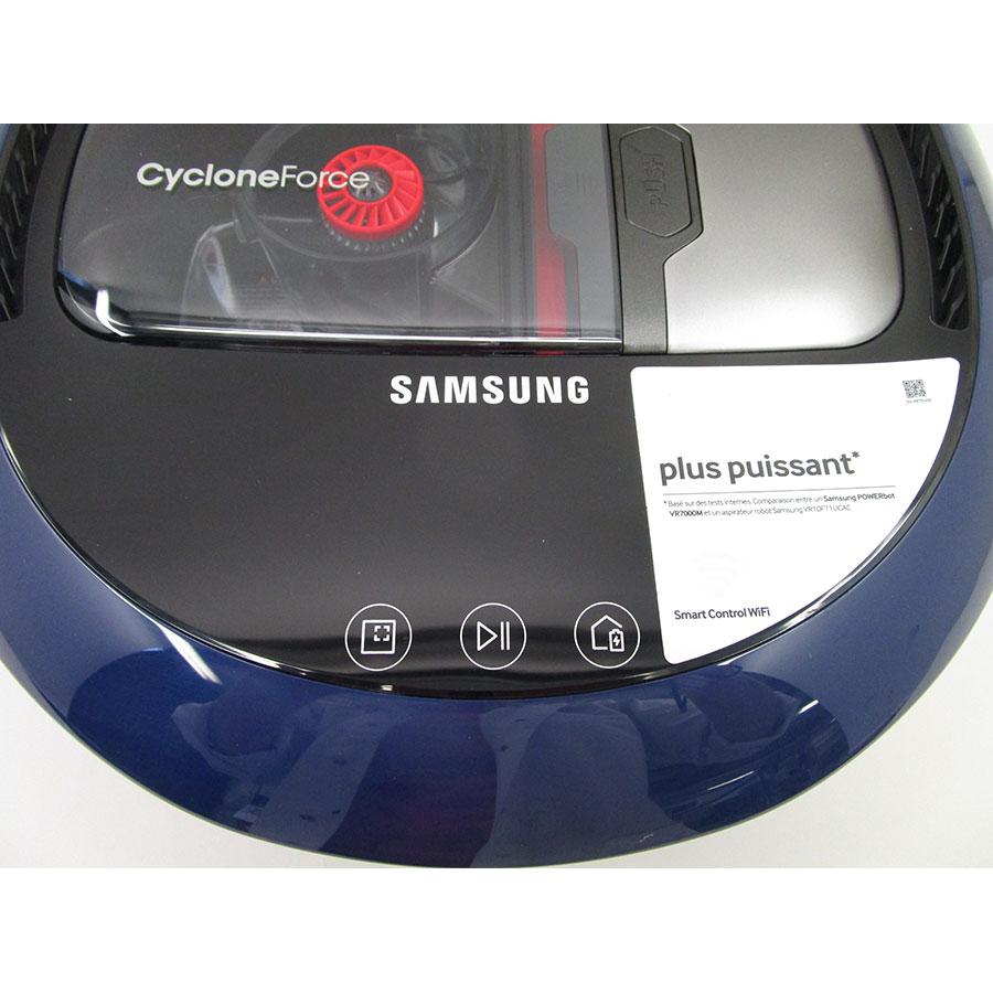 Samsung PowerBot SR1FM7030WB(*10*) - Bandeau de commandes