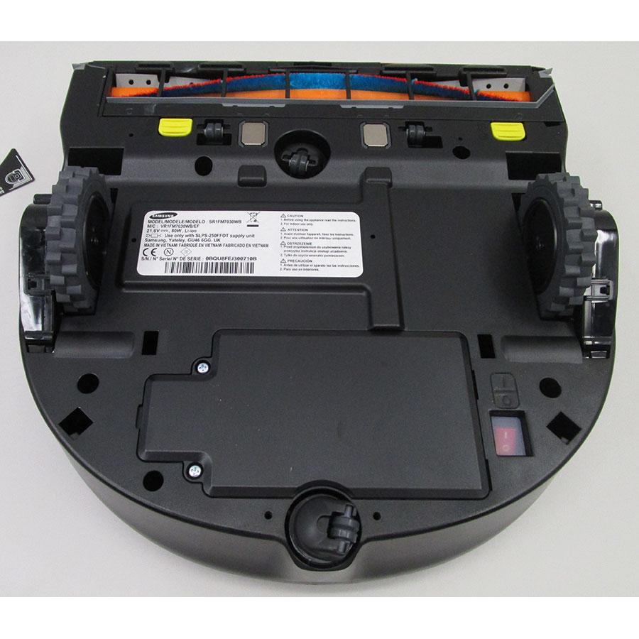 Samsung PowerBot SR1FM7030WB(*10*) - Vue de dessous
