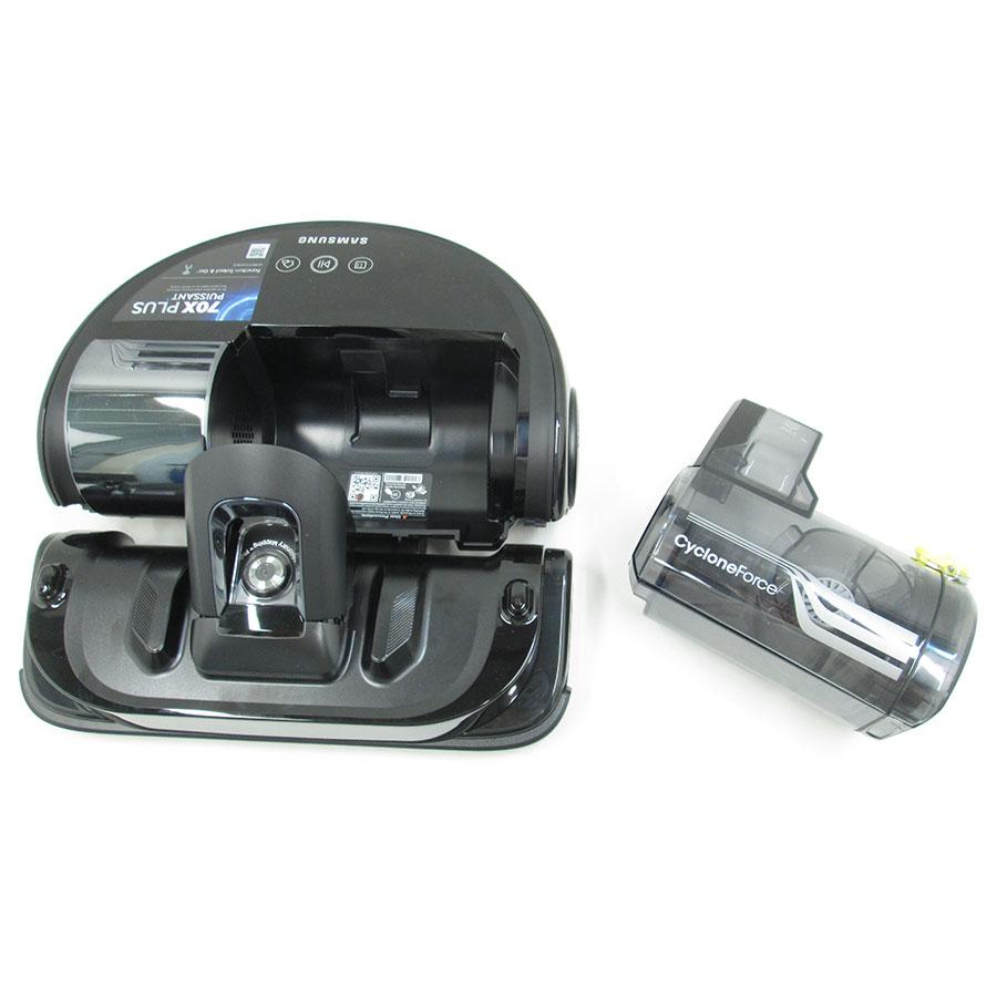 Samsung SR20K9350W Powerbot  - Réservoir à poussière sorti