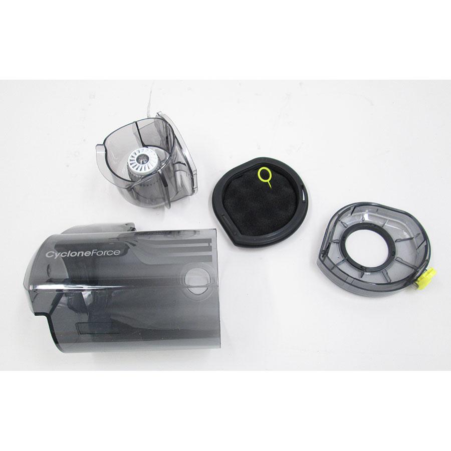 Samsung SR20K9350W Powerbot  - Bac à poussière et son filtre