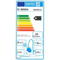 Bosch BGB2B111 GL-20 BagBagless - Étiquette énergie