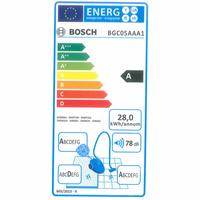 Bosch BGC05AAA1 GS05 Cleann'n - Étiquette énergie